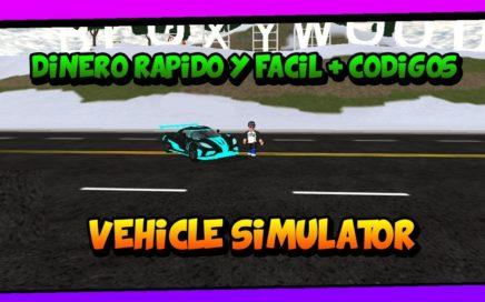 COMO CONSEGUIR DINERO RÁPIDO TRUCO FÁCIL | Vehicle simulator | roblox