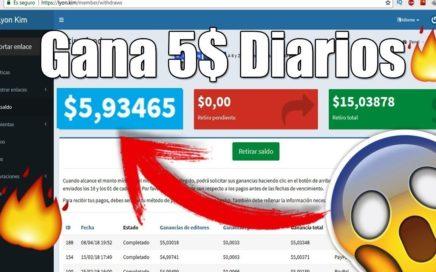 Como Ganar $5 Diarios en Paypal con Lyon.kim  Dinero Gratis   Información del canal de Raycen