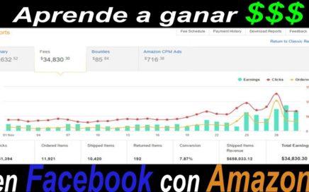 Como ganar dinero en Facebook con Amazon Paso a Paso