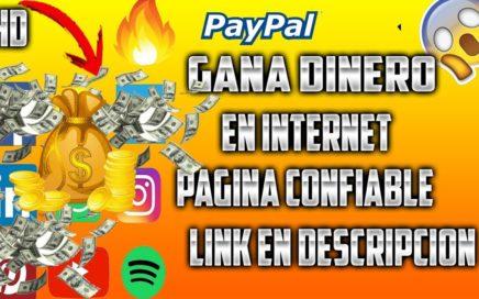 COMO GANAR DINERO EN INTERNET 2018 | PARA PAYPAL 2018