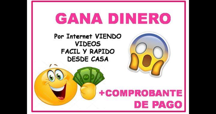 COMO GANAR DINERO  en Internet con FLAMZY fácil desde casa + COMPROBANTE DE PAGO