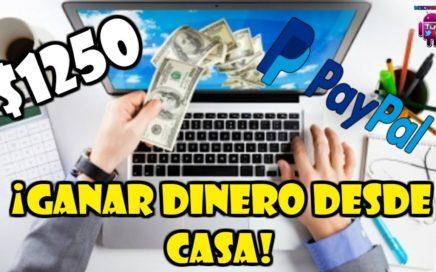 Como GANAR DINERO en INTERNET desde CASA| Método REAL y CONFIABLE | PRUEBAS DE PAGO