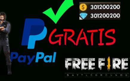 !!Como ganar dinero en paypal para free fire (2018)