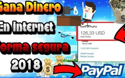 como ganar dinero  facil y rapido para paypal metodo 2018