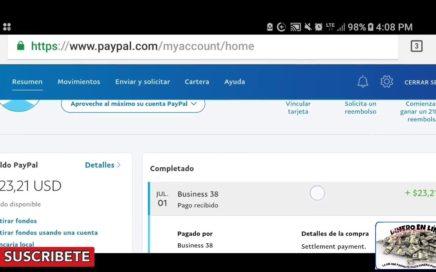 Como ganar dinero por internet Comprobantes de pago de nuestras paginas