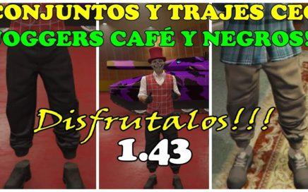 COMO GUARDAR INDUMENTARIAS CEO JOGGERS NEGROS Y CAFÉ TRUCO EN GTA 5 ONLINE PS4 XBOX Y PC