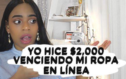 COMO YO HICE $2,000 VENDIENDO MI ROPA EN LÍNEA |POSHMARK