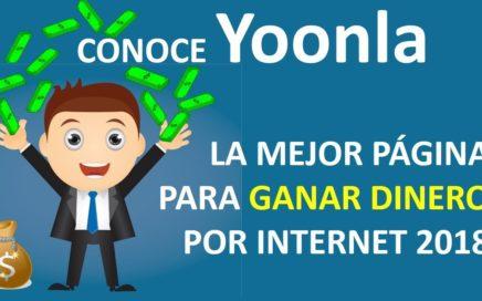 Conoce YOONLA! La Mejor Página Para GANAR DINERO Online Si Sabes Inglés