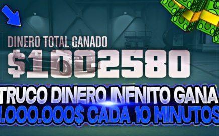 CONSEGUIR 1 000 000$ CADA 10 MINUTOS CON ESTE TRUCO DE DINERO INFINITO SIN BANEO GTA 5 ONLINE 1 43