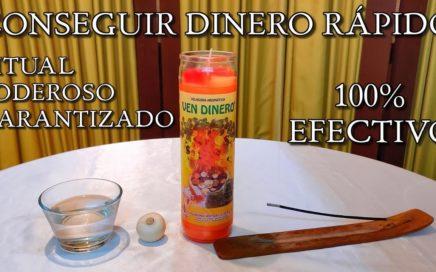 CONSEGUIR DINERO RAPIDO RITUAL PODEROSO 100%  EFECTIVO