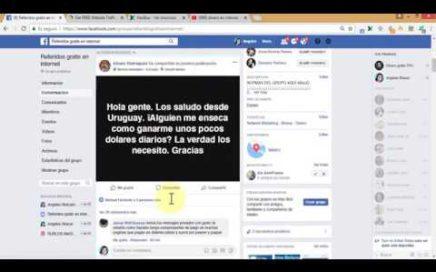 CONSULTAME POR MI GRUPO DE FACEBOOK PARA GANAR DINERO EN INTERNET