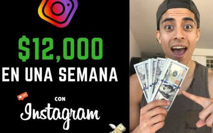 Convierte $100 en $12,000 en 7 Días con Instagram Ads {FÁCIL} | Como Ganar Dinero en Instagram 2018