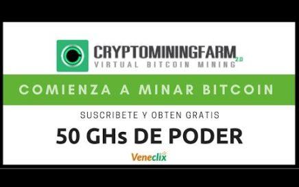CRYPTOMININGFARM Como registrarse y empezar a ganar en Cryptominingfarm Julio 2018
