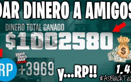 *DINERO GRATIS* - DINERO a AMIGOS y RP - GTA 5 - $1.000.000$ y 4.000Rp - !MEJORADO! - (PS4 - XB1)