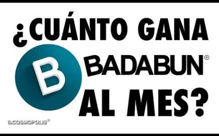 ESTO GANA BADABUN, EL CANAL más VISTO de MÉXICO