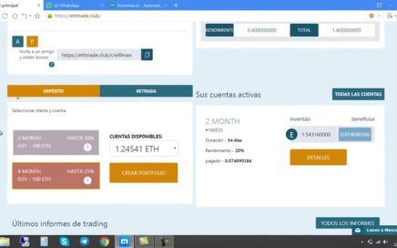 ETHTRADE COMO INVERTIR PASO A PASO TUTORIAL