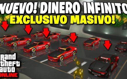EXCLUSIVO! NUEVO TRUCO DINERO INFINITO GTA 5 ONLINE DUPLICAR MASIVO *MATRICULA LIMPIA* GTA V 1.44