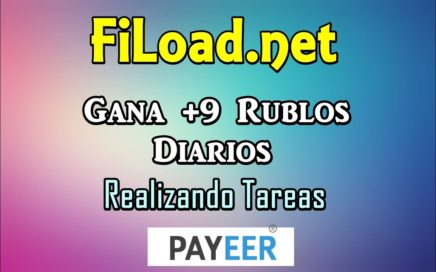 FiLoad.net Gana Rublos Con Tareas Faciles Retiro Minimo 1 Rublo