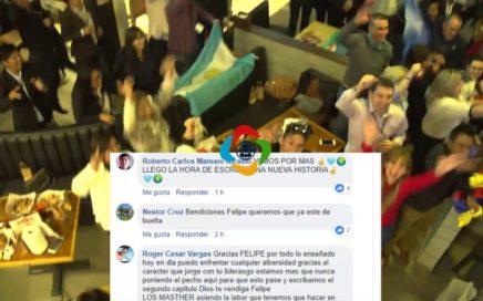 FLASH | Felipe Campos Hace Emotiva Publicación en Facebook de su Ultimo Evento de MKTcoin