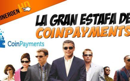 FUIMOS TIMADO POR COINPAYMENTS : No podemos cambiar los CPScoin a BITCOIN