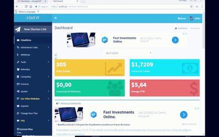 Gana Dinero acortando links con icutit.ca mínimo de retiro 5 dolares 2018