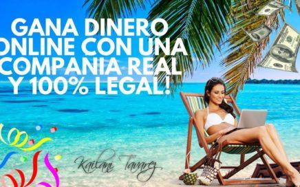 Gana Dinero Online con una Compañia Real y 100% Legal - Kailani Tavarez