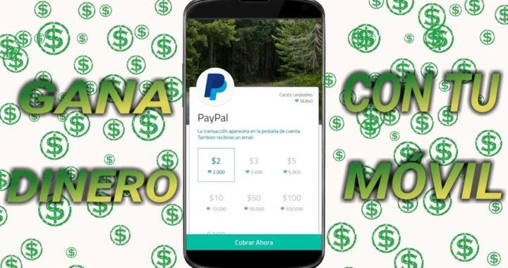 Gana dinero por desbloquear tu teléfono, para PayPal o tarjetas google play