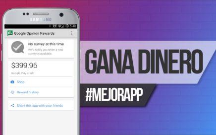 Gana dinero real y saldo para gastar en Google Play | Google Opinions Rewards