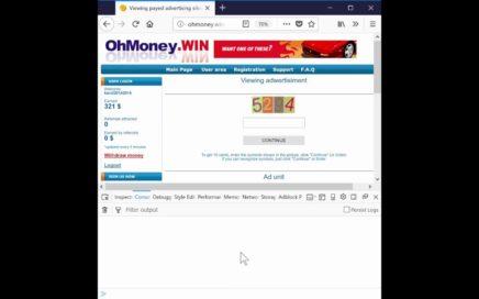 Ganar dinero en internet.  ( rellenar captchas mas rapido )