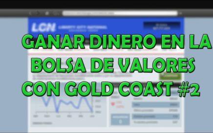 GANAR DINERO EN LA BOLSA DE VALORES DE GTAV CON GOLD COAST#2 FACIL(PS4)
