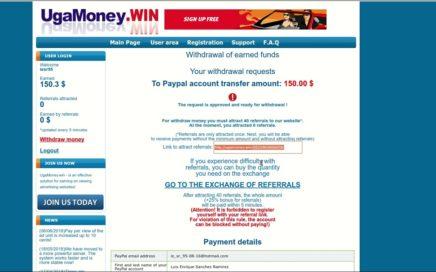 Ganar dinero facil? Con un sistema de paga?