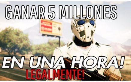 GTA 5 ONLINE 1.44  GANAR 5.000.000$ EN UNA HORA LEGALMENTE!