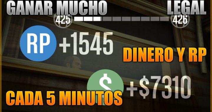 GTA V Online Conseguir Dinero Legal PS4/XBOX ONE 120.000$ Por Hora