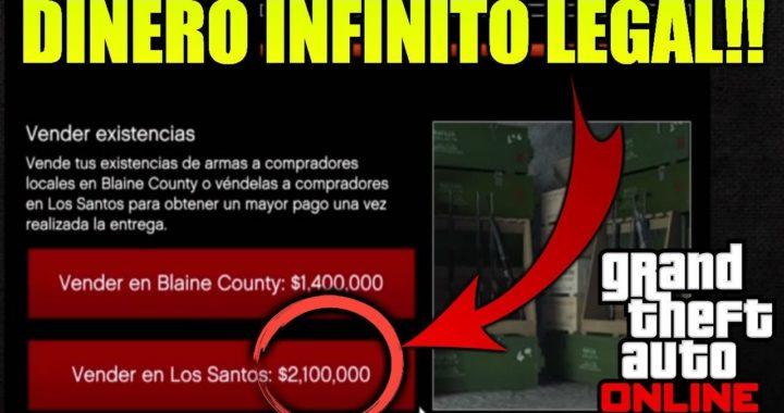 HAZ $2,100,000 POR VENTA DE EXISTENCIAS DEL BUNKER | DINERO INFINITO (LEGAL) | GTA 5 ONLINE