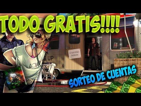 HAZ ESTOS PASOS Y SERAS MILLONARIO!!! GTA 5 ONLINE! -*TODO GRATIS-* DINERO INFINITO CUENTAS CHETADAS