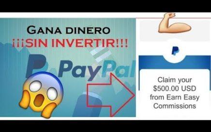 ¡IMPRESIONANTE! GANA 250$ DOLARES Y MAS SEMANALES - COMO GANAR DINERO PARA PAYPAL