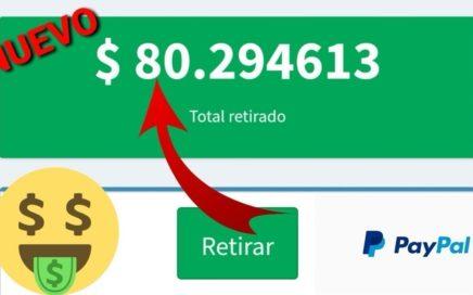 INCREÍBLE APP PARA GANAR 15 DÓLARES DIARIOS EN PAYPAL/ Ganar Dinero En PayPal Brutalmente 2018