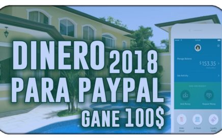 ¡INCREÍBLE! ME PAGARON 100$ EN 1 DIA | COMO GANAR DINERO EN PAYPAL [COMPROBANTE DE PAGO JULIO 2018]