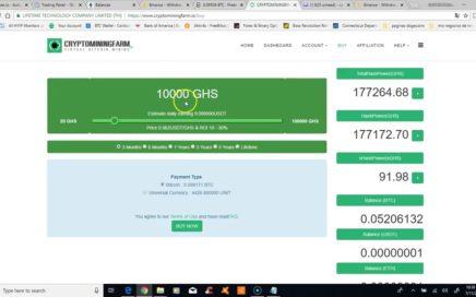 invirtiendo 1880usd mas en ethtrade 1broker y cryptominingfarm 2018