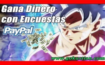La Mejor Encuestadora para Ganar Dinero a Paypal (Estrategia para Ganar con Referidos) | Gokustian
