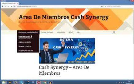 La Mejor Forma De Ganar Dinero   Cash Synergy, Gana Dinero Desde Casa Facil Y Rapido 2017   YouTube