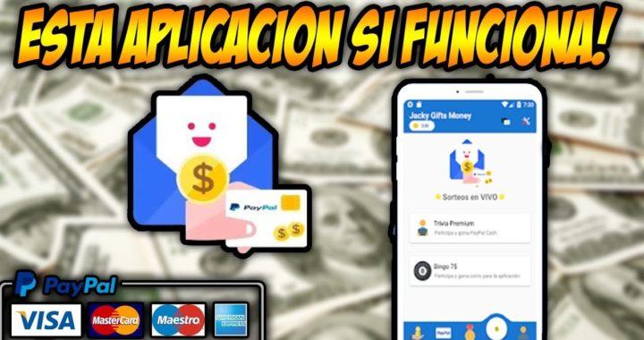 La Primera App que te REGALA DINERO para tu cuenta de PayPal GRATIS!!!