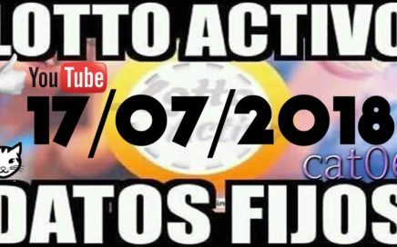 LOTTO ACTIVO DATOS FIJOS PARA GANAR  17/07/2018 cat06