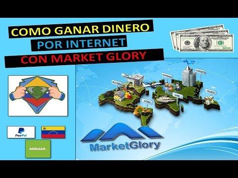 MARKETGLORY Estrategia Ganar Dinero por Internet (1). Derrota La Crisis Venezuela