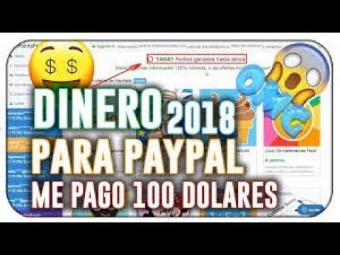 ME PAGAN 100$ DIARIOS   COMO GANAR DINERO EN PAYPAL COMPROBANTE DE PAGO   JULIO 2018