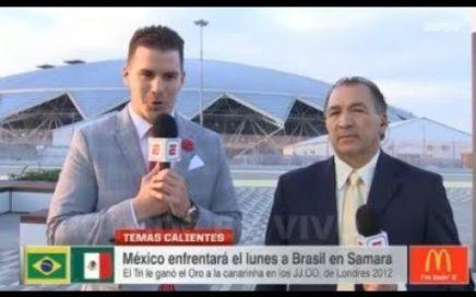 Mexico Confiado Con Ganar A Brasil Como En Los Juegos Olimpicos