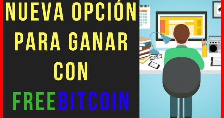 NUEVA OPCIÓN PARA FREEBITCOIN | GANA HASTA 30.000 DOLARES