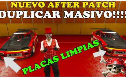 NUEVO AFTER PATCH TRUCO GTA 5 ONLINE DUPLICAR MASIVO CON P`LACAS LIMPIAS PS4 XBOX Y PC