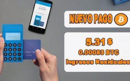 Nuevo Pago 5.31$ en BITCOIN | ¿Como ganar Dinero por internet? ¿como obtener ganancias diarias?