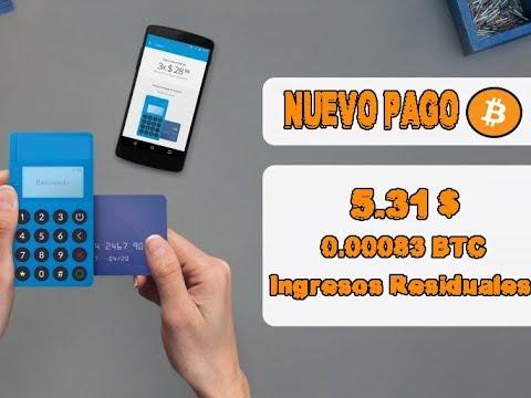 Nuevo Pago 5.31$ en BITCOIN   ¿Como ganar Dinero por internet? ¿como obtener ganancias diarias?